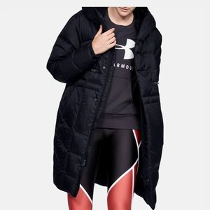 Women's Small Under Armour Down Parka